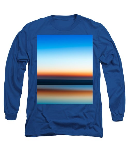 Sunset At Ottawa Lake Long Sleeve T-Shirt