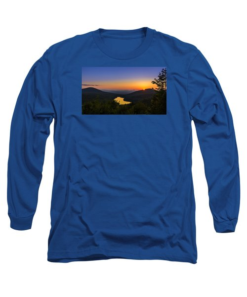 Sunset At Owls Head Long Sleeve T-Shirt by Tim Kirchoff