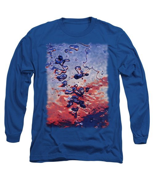 Sunset Flakes Long Sleeve T-Shirt by Sami Tiainen