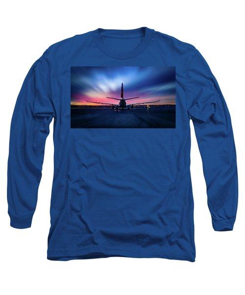Sunset Flight Long Sleeve T-Shirt