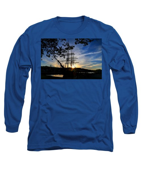 Sunset On The Whalers Long Sleeve T-Shirt