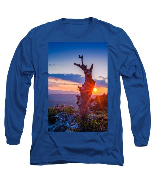 Sunset Tree Long Sleeve T-Shirt
