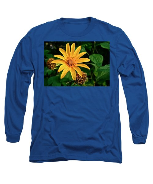 Long Sleeve T-Shirt featuring the photograph Sunshine Cheerleader by Kathleen Scanlan