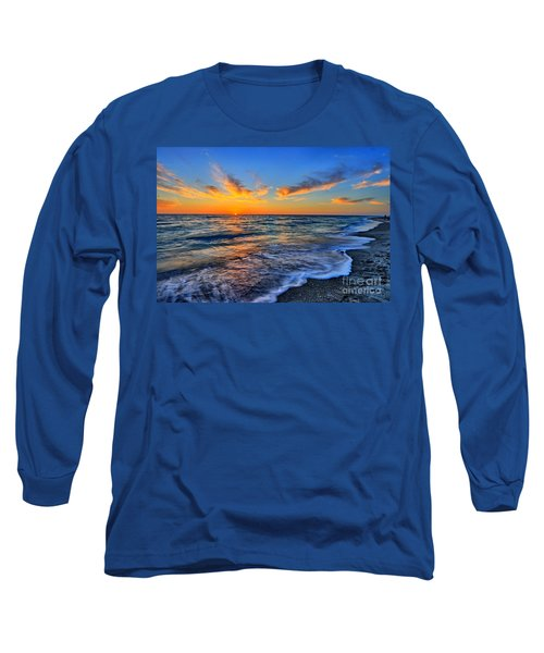 Long Sleeve T-Shirt featuring the photograph Sunshine Skies by Scott Mahon