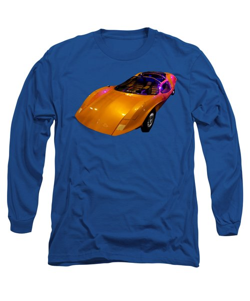 Super Car Orange Art Long Sleeve T-Shirt