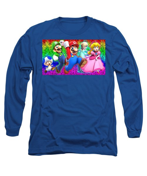 Super Mario 3d World Long Sleeve T-Shirt