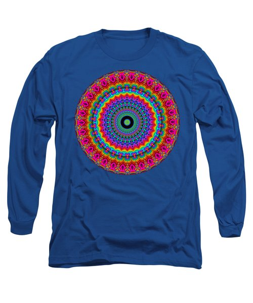 Super Rainbow Mandala Long Sleeve T-Shirt