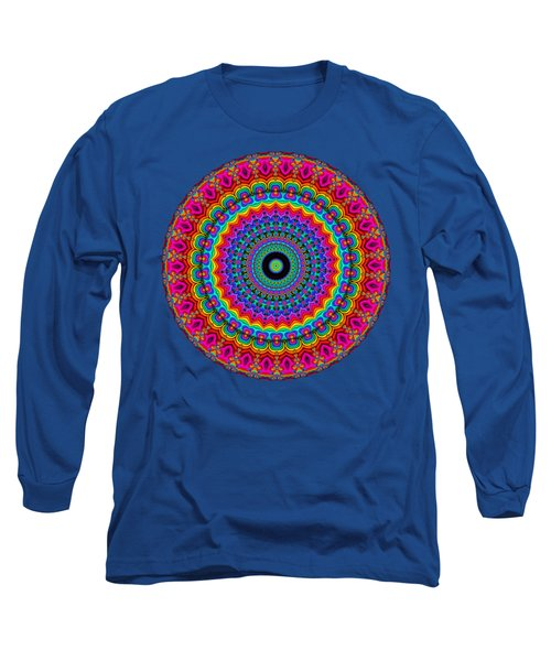 Super Rainbow Mandala Long Sleeve T-Shirt