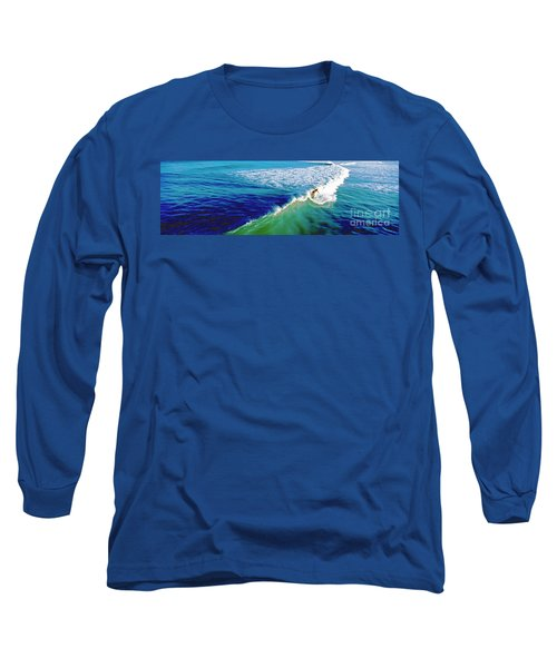 Surfs Up Daytona Beach Long Sleeve T-Shirt