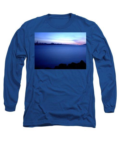 Surreal San Francisco Long Sleeve T-Shirt