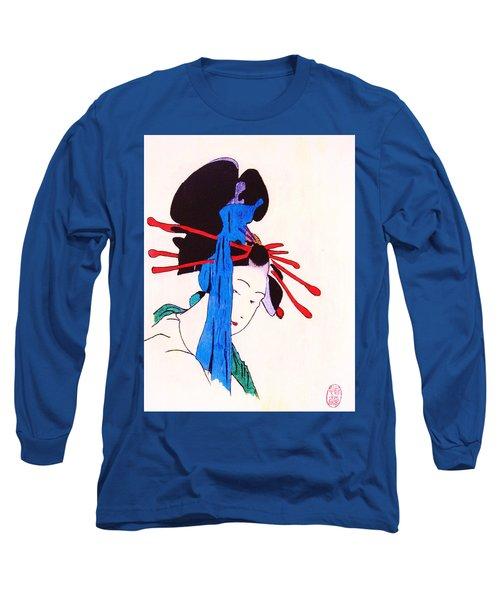 Sutekina Geisha Ni Long Sleeve T-Shirt