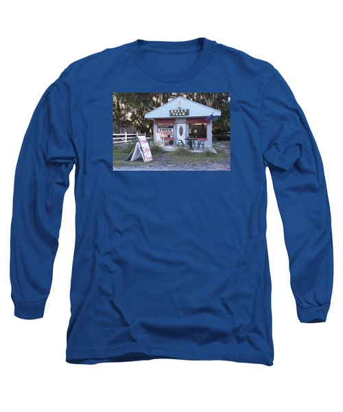 Sweet Teas And Fried Chicken Long Sleeve T-Shirt by Suzanne Gaff