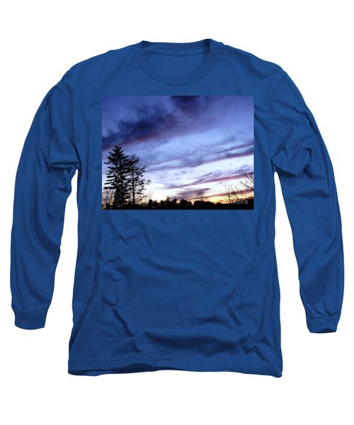 Long Sleeve T-Shirt featuring the photograph Swept Sky by Melissa Stoudt