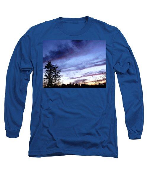 Swept Sky Long Sleeve T-Shirt by Melissa Stoudt