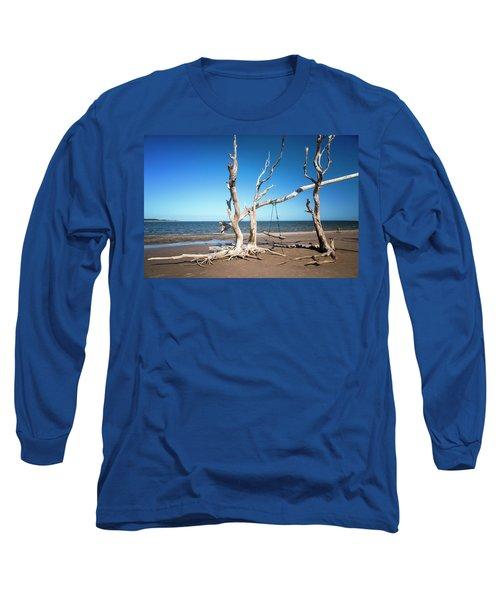 Swingin' At Low Tide Long Sleeve T-Shirt