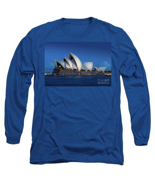 Sydney Opera House After Dark Long Sleeve T-Shirt