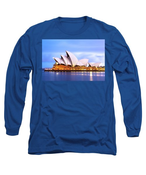 Sydney Opera House At Dawn Long Sleeve T-Shirt