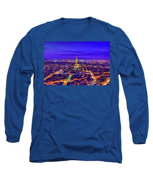 Symphony In Blue Long Sleeve T-Shirt