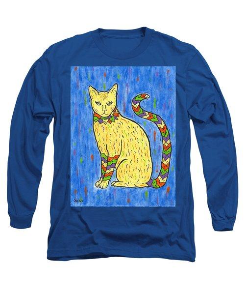 Tabby Kat Long Sleeve T-Shirt
