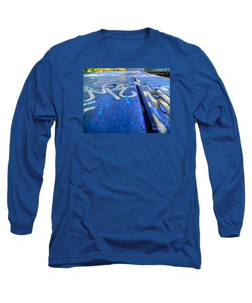 Table Graffiti Long Sleeve T-Shirt by KD Johnson