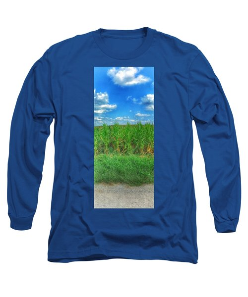 Tall Corn Long Sleeve T-Shirt by Jame Hayes