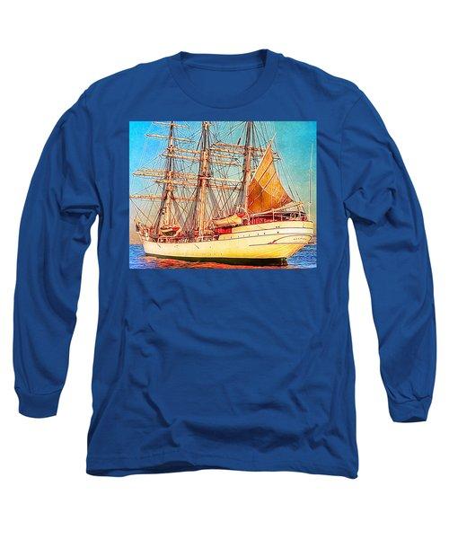 Tall Ship Long Sleeve T-Shirt