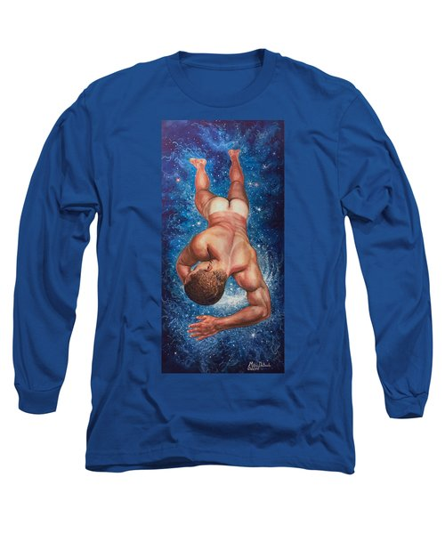 Tan Lines In Space Long Sleeve T-Shirt