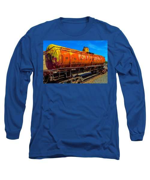 Tanker For Fire Use Only Long Sleeve T-Shirt