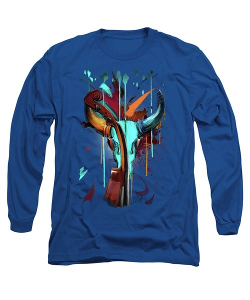 Taurus Long Sleeve T-Shirt by Melanie D