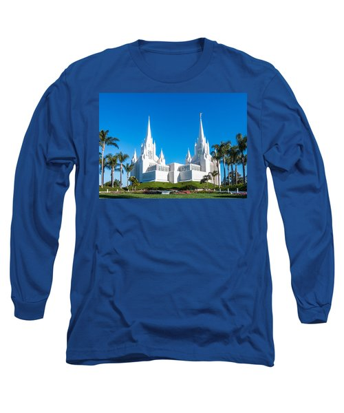 Temple Glow Long Sleeve T-Shirt by Patti Deters