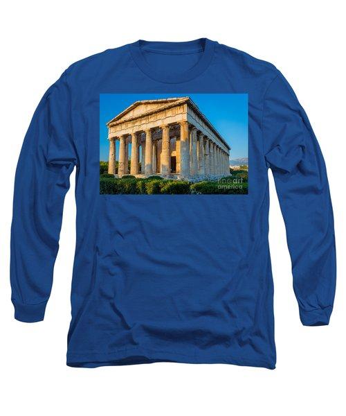 Temple Of Hephaestus Long Sleeve T-Shirt