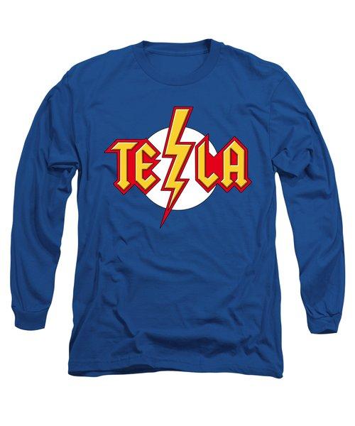 Tesla Bolt Long Sleeve T-Shirt