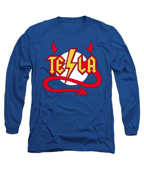 Tesla Devil Long Sleeve T-Shirt