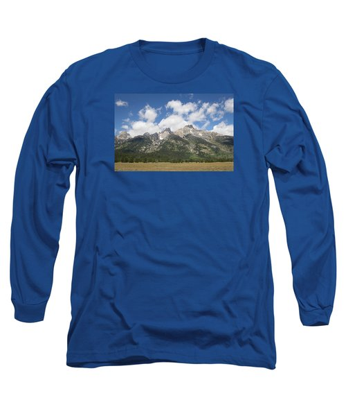 Teton View Long Sleeve T-Shirt by Diane Bohna