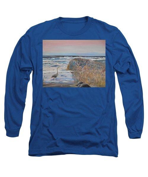 Texas - Padre Island Long Sleeve T-Shirt by Christine Lathrop