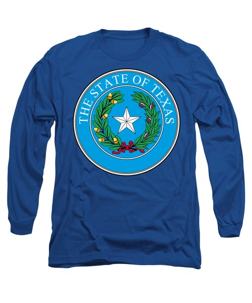 Texas State Seal Long Sleeve T-Shirt