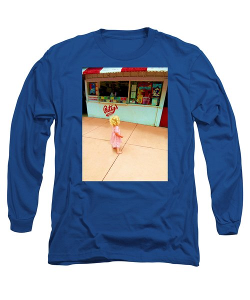 Long Sleeve T-Shirt featuring the photograph The Candy Store by Lanita Williams