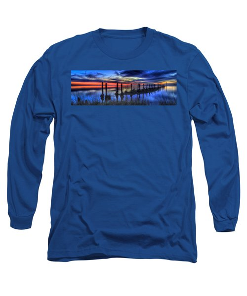 The Blue Hour Comes To St. Marks #2 Long Sleeve T-Shirt