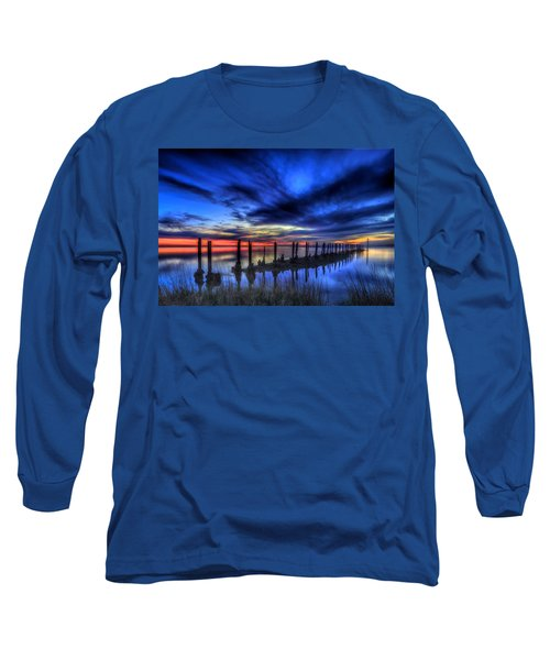 The Blue Hour Comes To St. Marks #1 Long Sleeve T-Shirt