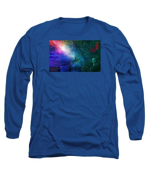 The Butterfly Effect Long Sleeve T-Shirt by Kenneth Armand Johnson