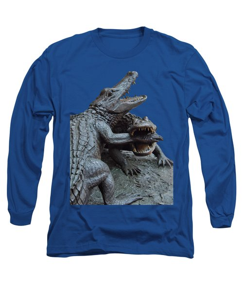 The Chomp Transparent For Customization Long Sleeve T-Shirt by D Hackett