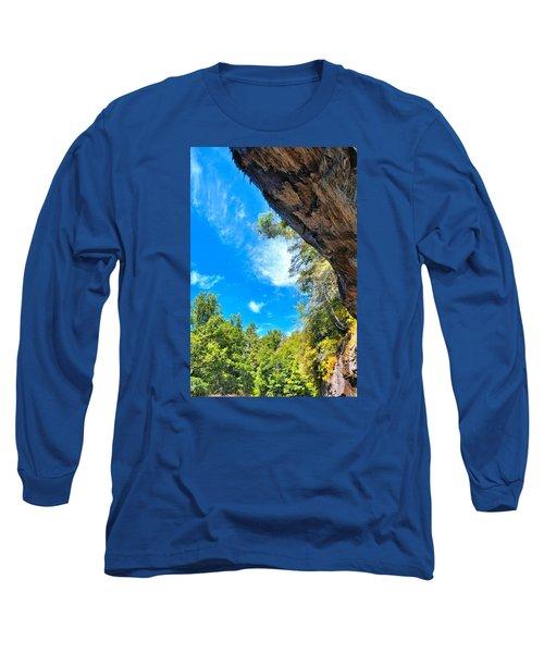 The Cliffs At Bridal Veil Falls Long Sleeve T-Shirt