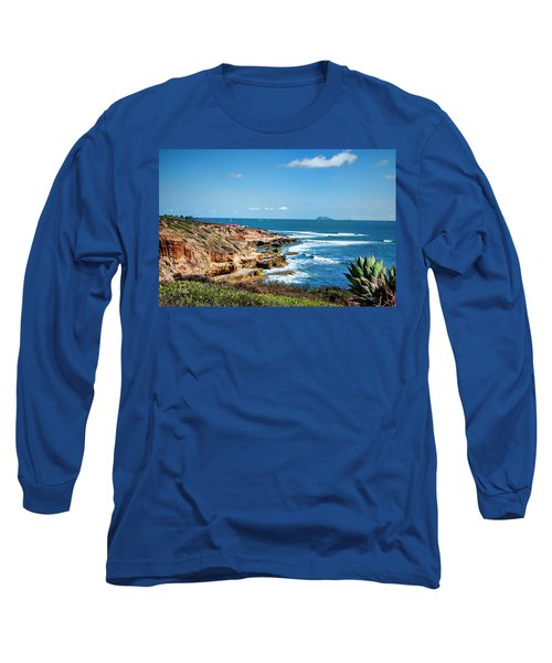 The Cliffs Of Point Loma Long Sleeve T-Shirt