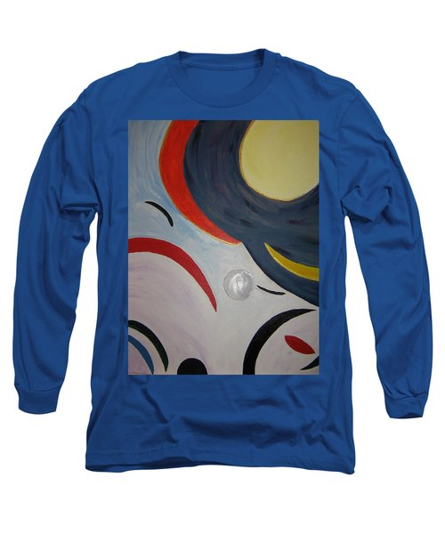 The Cosmos Long Sleeve T-Shirt by Barbara Yearty