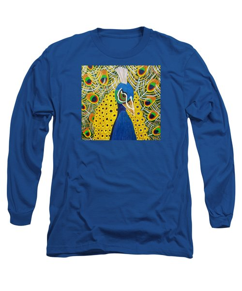 The Eye Of The Peacock Long Sleeve T-Shirt