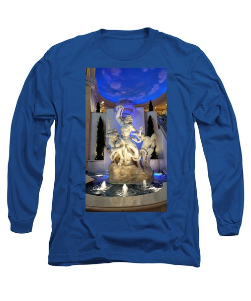 The Forum Shop Statues At Ceasars Palace Long Sleeve T-Shirt