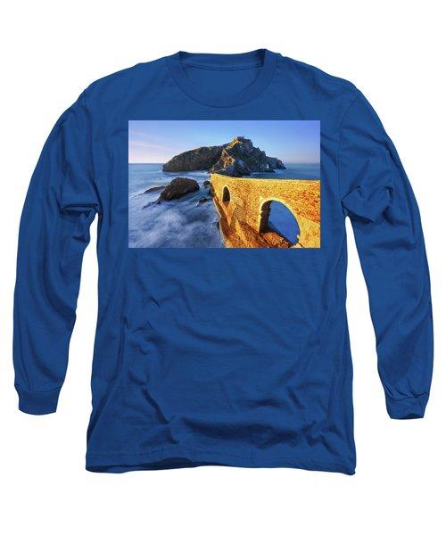 The Golden Bridge Long Sleeve T-Shirt