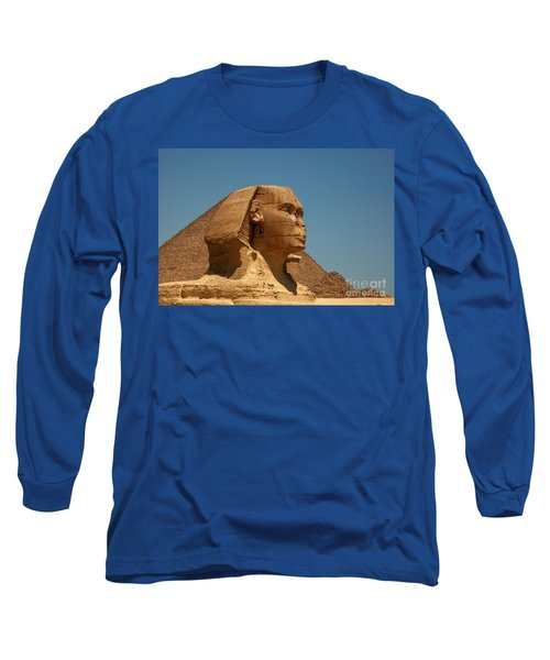 The Great Sphinx Of Giza Long Sleeve T-Shirt