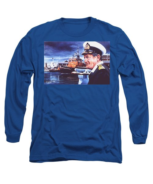 The Harbourmaster Long Sleeve T-Shirt by Tim Johnson