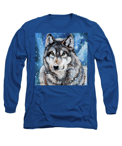 Long Sleeve T-Shirt featuring the painting The Hunter by Igor Postash